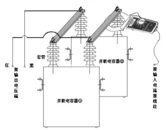 电容电感测试接线图
